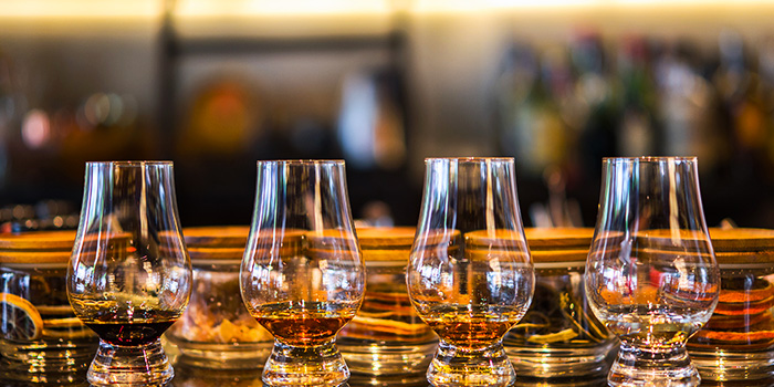 Whisky Variety from La Maison du Whisky in Robertson Quay, Singapore