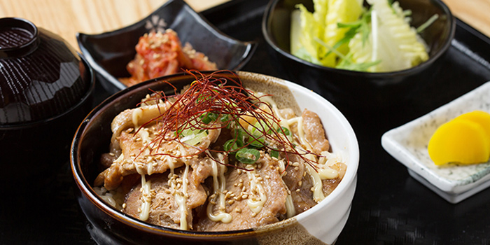 Lunch Set, Jan Jan Kushikatsu, Wan Chai, Hong Kong