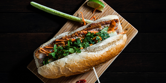 Roast Pork Banh Mi from Mischief at Esplanade in Promenade, Singapore