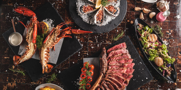 Mixed Grilled Dishes from Riverside Grill at Royal Orchid Sheraton Hotel & Towers, Bangkok