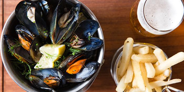 Mussels, The Grill Room, Tsim Sha Tsui, Hong Kong