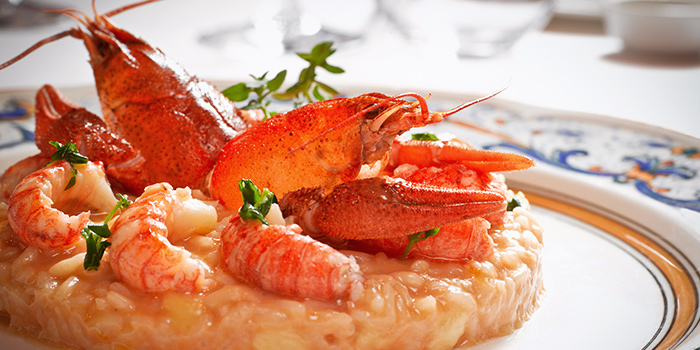 Risotto from OTTO Ristorante at Maxwell Chambers in Tanjong Pagar, Singapore