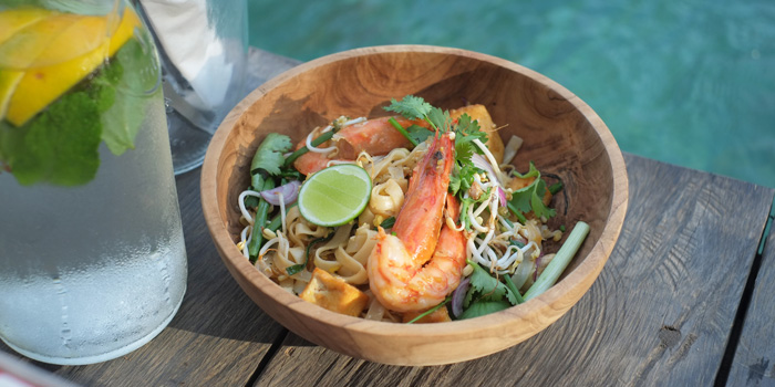 Dish 1 at Folk Pool & Gardens, Ubud