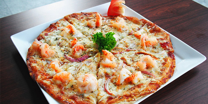 Tiger Prawn Pizza from Rafael