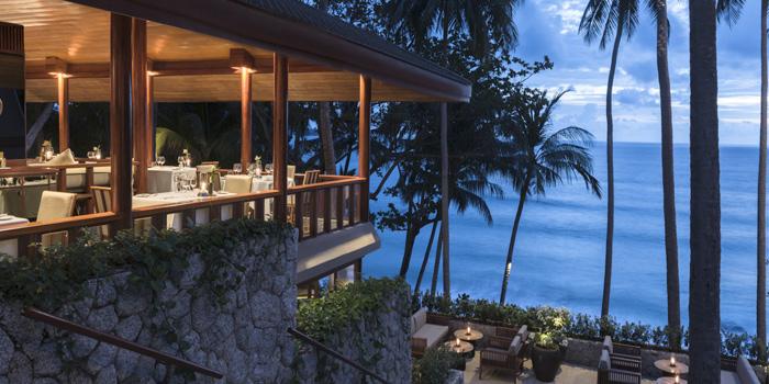 Restaurant-Atmosphere of Arva in Cherngtalay, Phuket, Thailand.