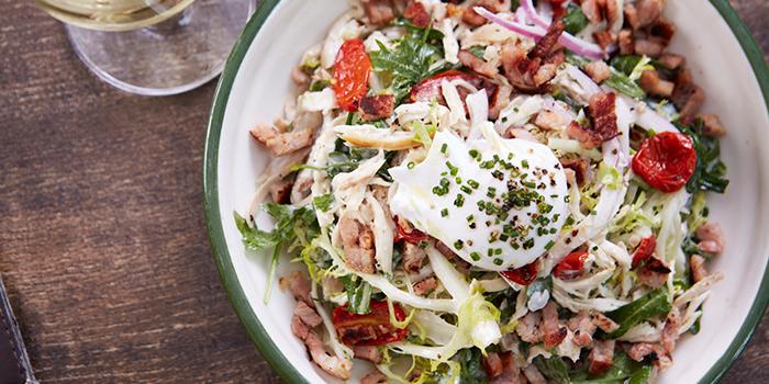 Roast Chicken Frisse Salad, FRITIES Belgium on Tap, Quarry Bay, Hong Kong
