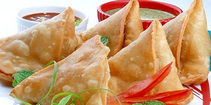 Samosa from Bombay Dining in Telok Blangah, Singapore