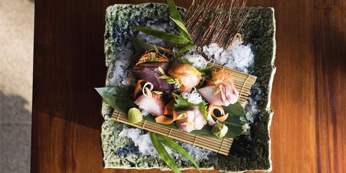 Sashimi Platter from Nama in Cherngtalay, Phuket, Thailand.