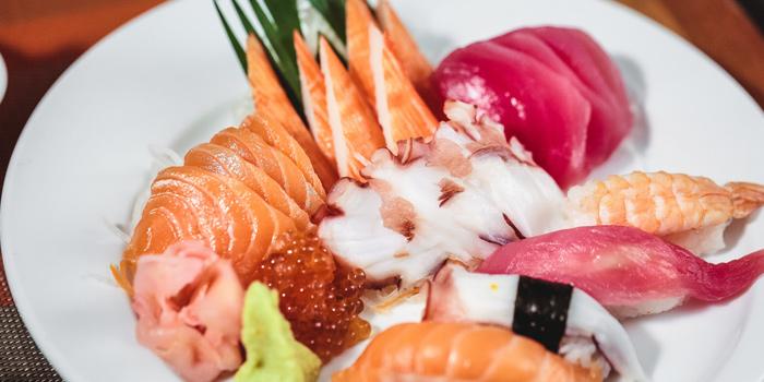 Sashimi Selection from Feast at Royal Orchid Sheraton Hotel & Towers, Bangkok