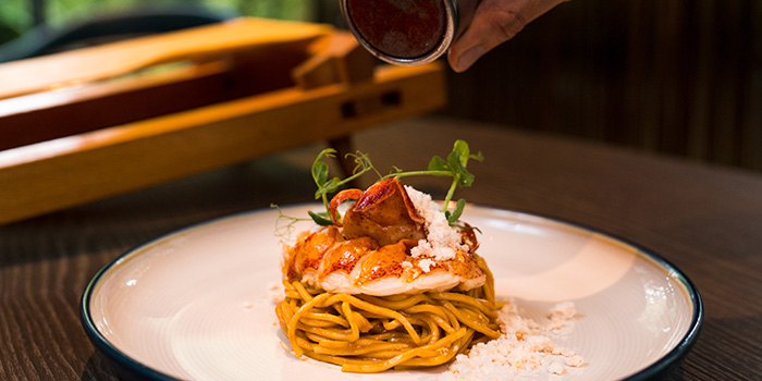 Spaghetti from the Cliff in Sentosa, Singapore
