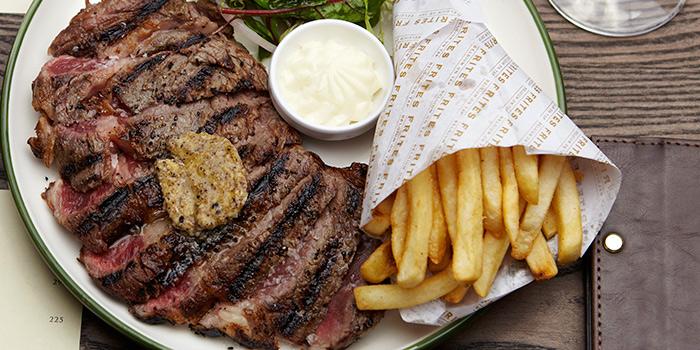 Steak & Fries, FRITIES Belgium on Tap, Quarry Bay, Hong Kong