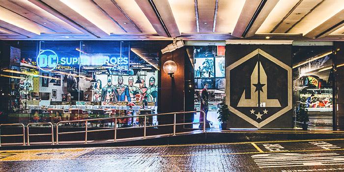 Exterior of DC Super Heroes Cafe (Takashimaya) in Orchard, Singapore