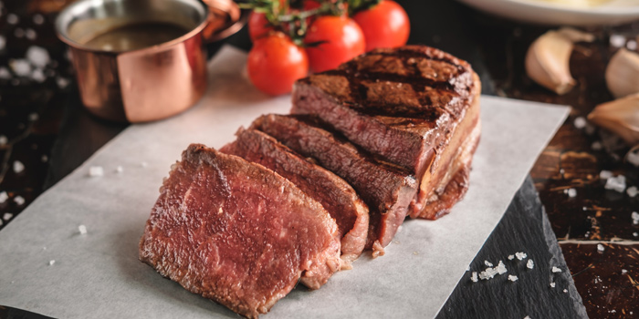 Grilled Tenderloin Steak from Riverside Grill at Royal Orchid Sheraton Hotel & Towers, Bangkok