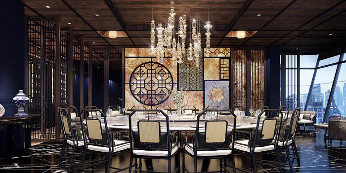 The Dining Room from Yào Restaurant at Marriott Bangkok Hotel The Surawongse Surawong Road, Si Phraya Bangrak, Bangkok