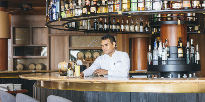 Lounge at Amanpuri