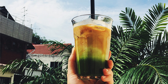 Green Shot from Thus Coffee in Thomson, Singapore