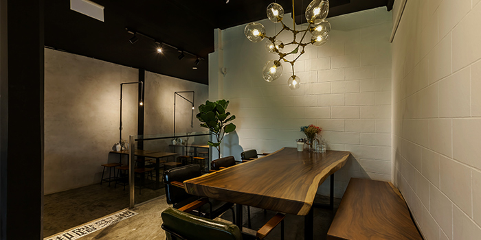Dining Area of Thus Coffee in Thomson, Singapore