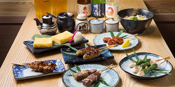 Various Dishes, Jan Jan Kushikatsu, Wan Chai, Hong Kong