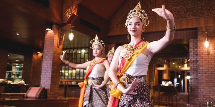 Classical Dance Show from Thara Thong at Royal Orchid Sheraton Hotel & Towers, Bangkok