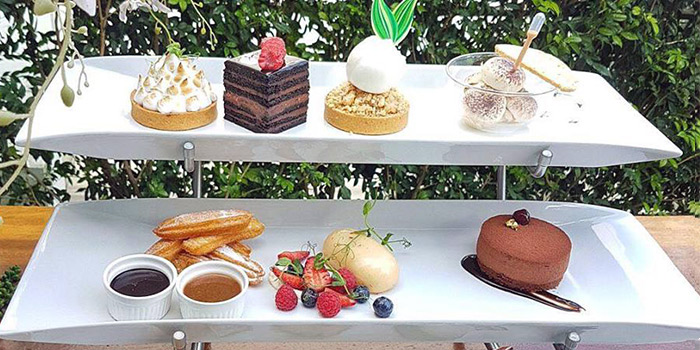 High Tea Set from etto at The Luxe in Dhoby Ghaut, Singapore