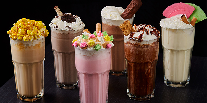 Milkshakes from Citrus Bistro at Sengkang Sports Centre in Sengkang, Singapore