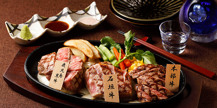 3 King Steak Platter, Wagyu 88, Causeway Bay, Hong Kong