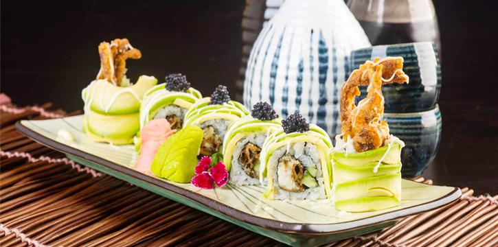 Sushi Platter from Matsuya Dining at Beach Centre in Bugis, Singapore