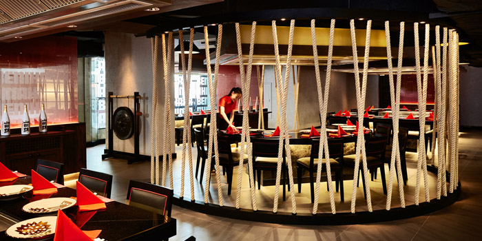Ambience of Benihana at AVANI Atrium Bangkok 1880 New Petchburi Rd Bangkok