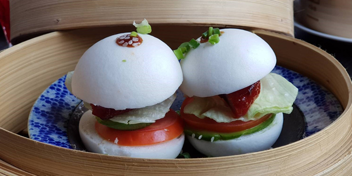 BBQ Pork Buns from Yào Restaurant at Marriott Bangkok Hotel The Surawongse Surawong Road, Si Phraya Bangrak, Bangkok