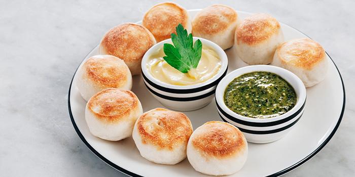 Baked Dough Balls, PizzaExpress Sai Ying Pun, Sai Ying Pun, Hong Kong