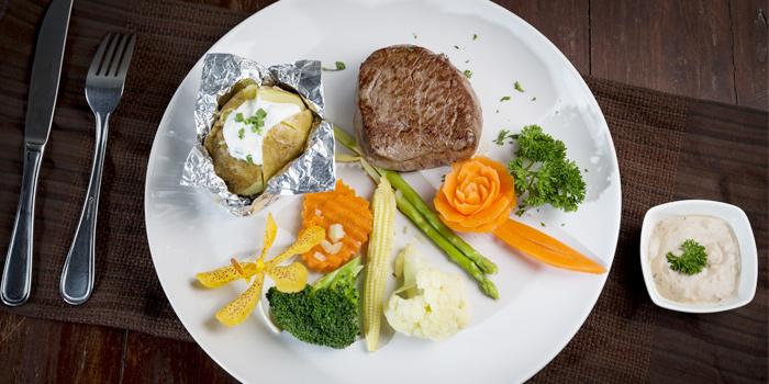 Beef Fillet from Bella Vista Oceanfront Terrace Restaurant in Karon, Phuket, Thailand