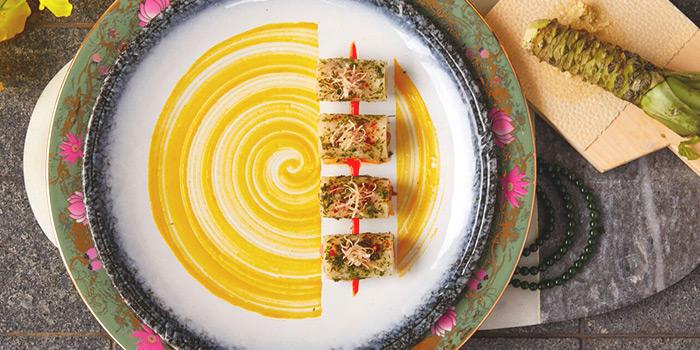 Japanese Yellowfin Tuna Jicama Roll from CE LA VI at Marina Bay Sands in Marina Bay, Singapore
