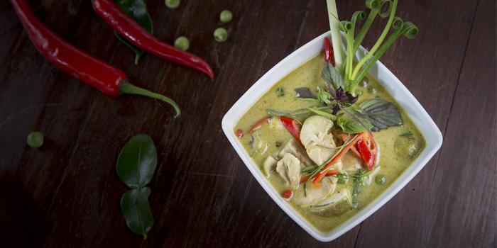 Chicken Green Curry from Bella Vista Oceanfront Terrace Restaurant in Karon, Phuket, Thailand