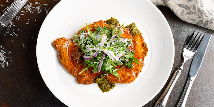 Chicken Parmigiana from Sky22 at Courtyard by Marriott Singapore Novena in Novena, Singapore