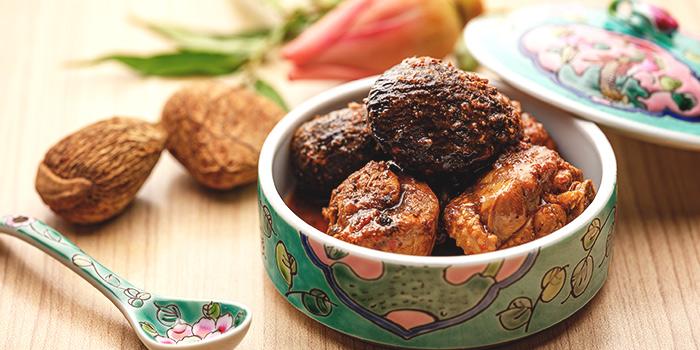 Ayam Buah Keluak from Spice Brasserie in Little India, Singapore