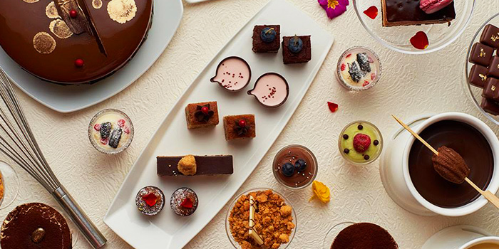 Chocolate Buffet (Fri-Sat) from The Courtyard at The Fullerton Hotel Singapore in Raffles Place, Singapore