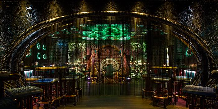 Dining Area, Ophelia, Wan Chai, Hong Kong