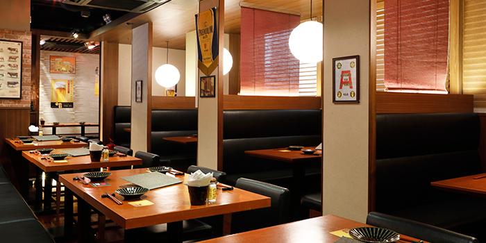 Dining Area, Wagyu 88, Causeway Bay, Hong Kong