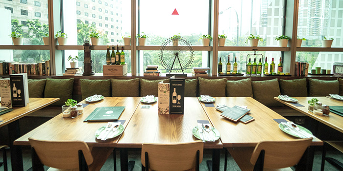 Dining Area of Supply & Demand (Orchard Gateway) in Orchard Road, Singapore