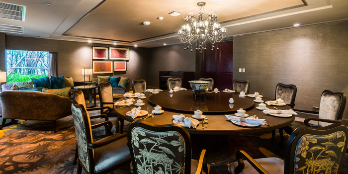 Dining Table of The Pagoda at Marriott Marquis Queen