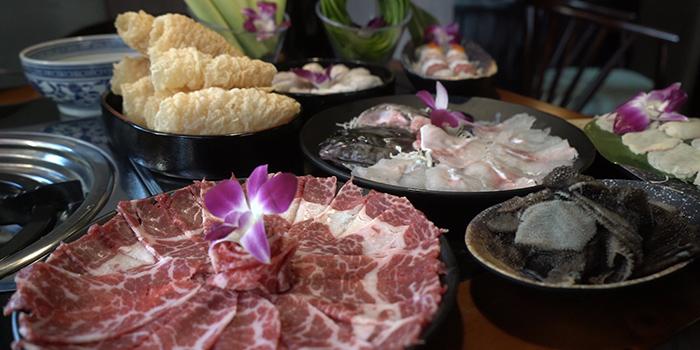 Meat, Yang Xian Din Hot Pot, Jordan, Hong Kong