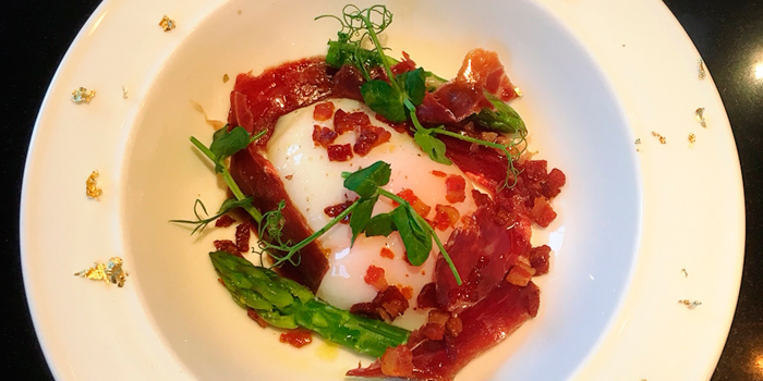Iberico with Onsen Egg, Emporio Antico Exotic Fine Food, Wan Chai, Hong Kong