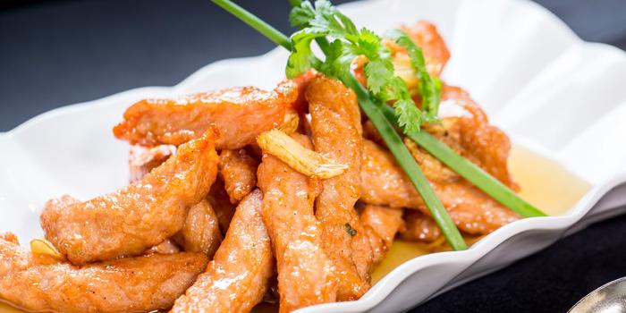 Fillet Pork loin from Xin Tian Di at Crowne Plaza Bangkok Lumpini Park 952 Rama IV Road Bangkok