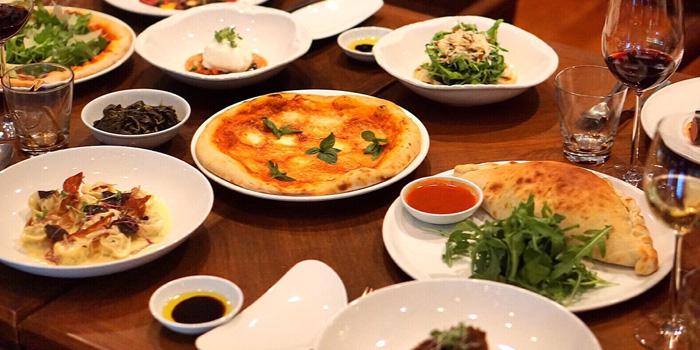 Food Selection from Brio at Anantara Riverside, Bangkok