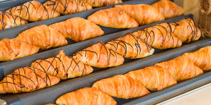 Fresh Baked Croissant from Skyline at AVANI Riverside Bangkok Hotel 257 Charoennakorn Rd Thonburi, Bangkok