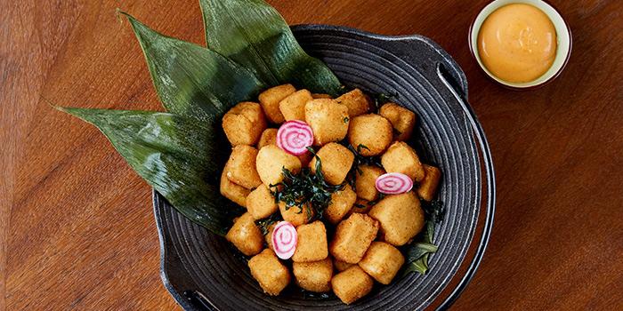 Fried Crispy Tofu, Red Sugar Bar, Hung Hom, Hong Kong