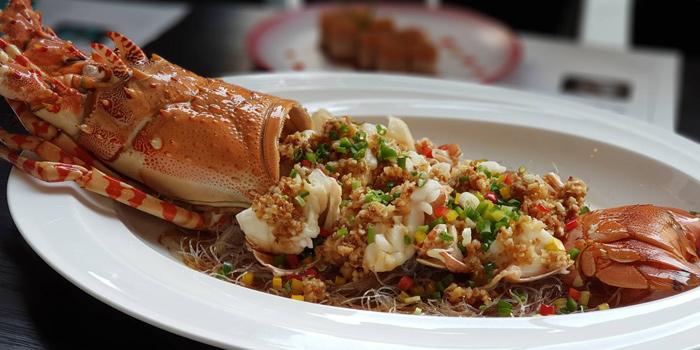 Garlic & Pepper Lobster from Yào Restaurant at Marriott Bangkok Hotel The Surawongse Surawong Road, Si Phraya Bangrak, Bangkok