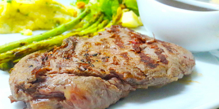 Grilled Churrasco Steak from Salsa Mexicana in Patong, Phuket, Thailand.
