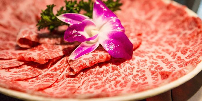 Hand cut Beef, Yang Xian Din Hot Pot, Jordan, Hong Kong