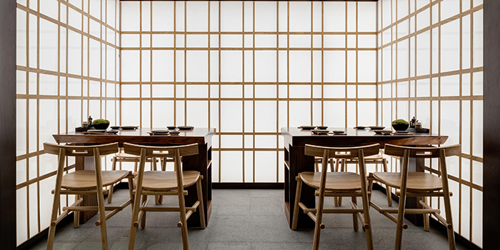 Interior, Sushi Taki, Tsim Sha Tsui, Hong Kong
